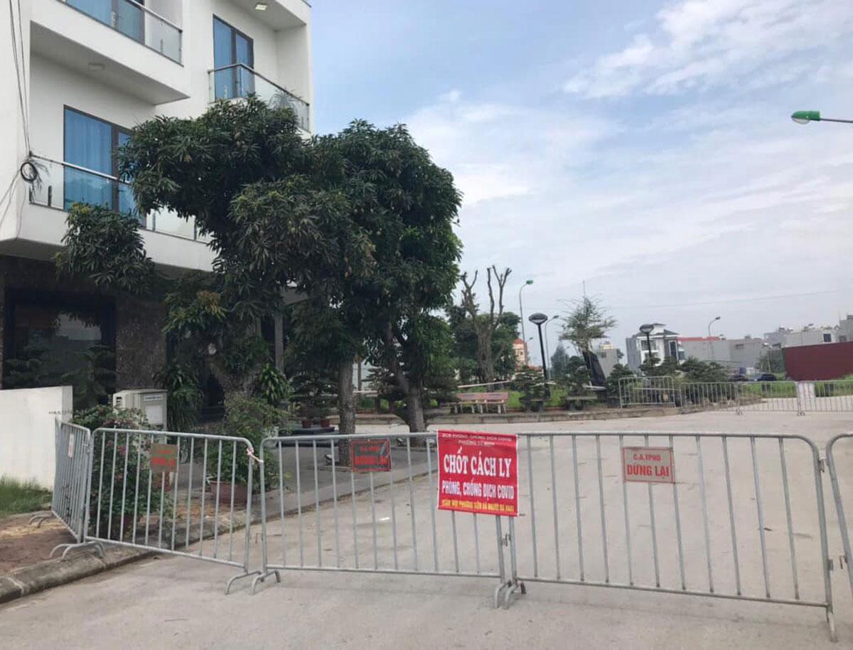 Khách sạn nam thanh niên từng lưu trú ở TP Hải Dương bị phong tỏa hôm 6/5. Ảnh: Thành Đông