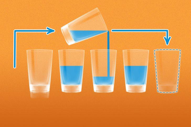 Di chuyển một chiếc cốc để đúng thứ tự - page 2