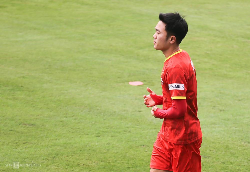 Pelatihan Luong Xuan Truong dimulai pada pukul 10:00 pagi ini, 9 Mei.