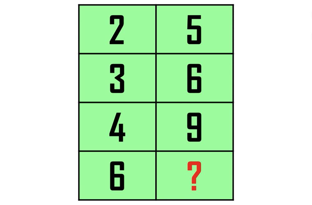 Bốn câu đố kiểm tra IQ - 1