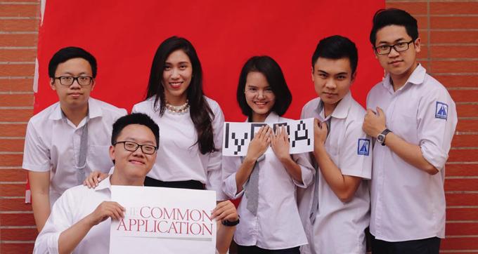 Cô Trang từng là học sinh trường Ams, sau khi tốt nghiệp khoa Sư phạm tiếng Anh, Đại học Ngoại ngữ, Đại học Quốc gia Hà Nội, cô về trường cũ giảng dạy. Ảnh: NVCC.