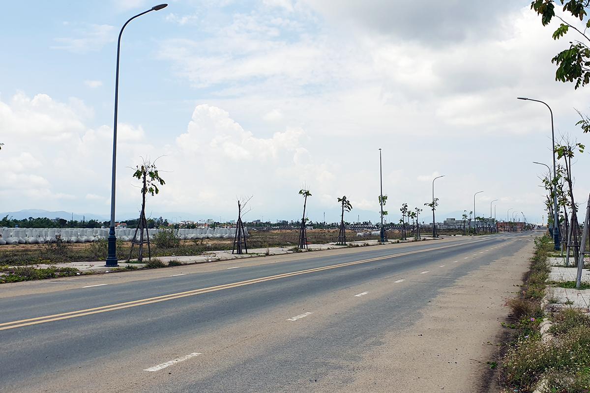 Một góc khu đô thị Nam Tuy Hòa tại TP Tuy Hòa, được đưa ra đấu giá. Ảnh: An Phước.