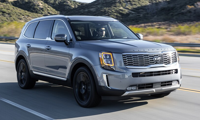 Telluride 2021 - SUV with a starting price of $ 32,000 in the US for the standard version.  Photo: Kia