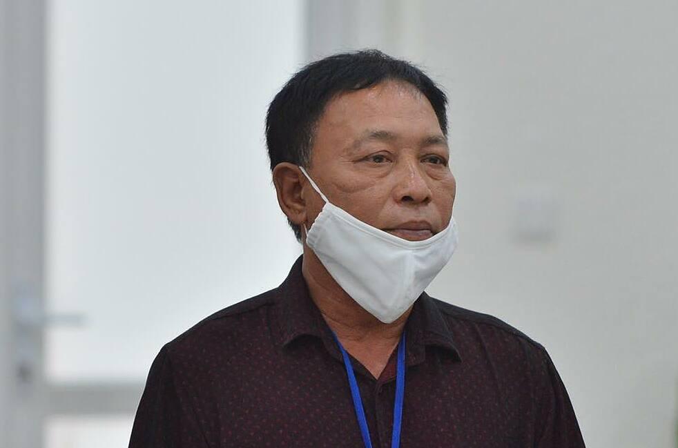 Bị cáo Hoàng Văn Lân. Ảnh: Danh Lam