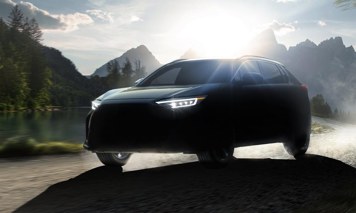 Xe điện Solterra sẽ bán từ giữa 2022. Ảnh: Subaru