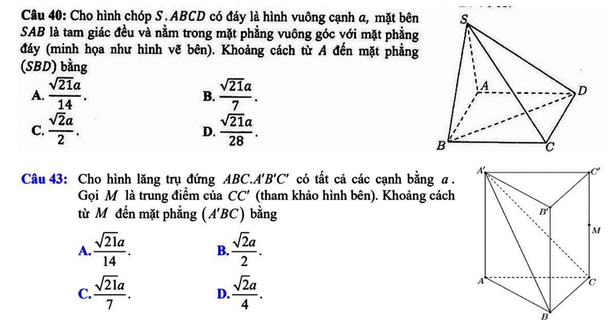 Giành điểm tối đa với bài hình học trong đề tốt nghiệp THPT - 3
