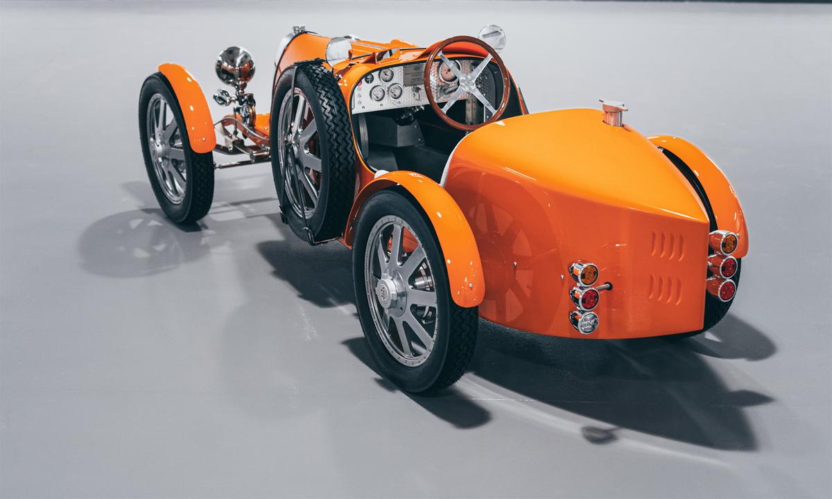 Bugatti Baby II - phiên bản thu nhỏ của Bugatti Type 35. Ảnh: Bugatti