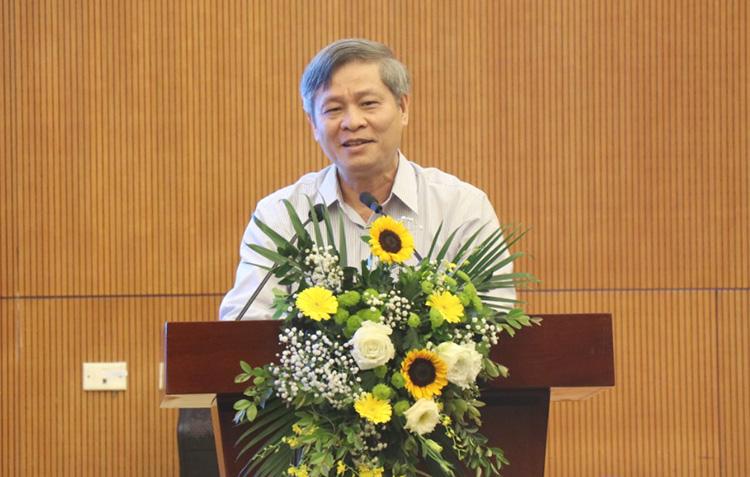 Thứ trưởng Phạm Công Tạc nhấn mạnh giá trị của sản phẩm OCOP. Ảnh: NX.