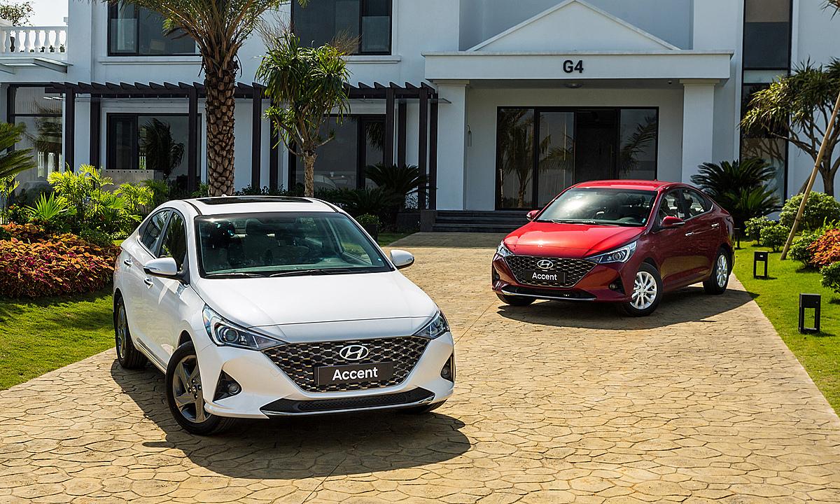 Hyundai Accent 2021 tại Việt Nam. Ảnh: TC Motor