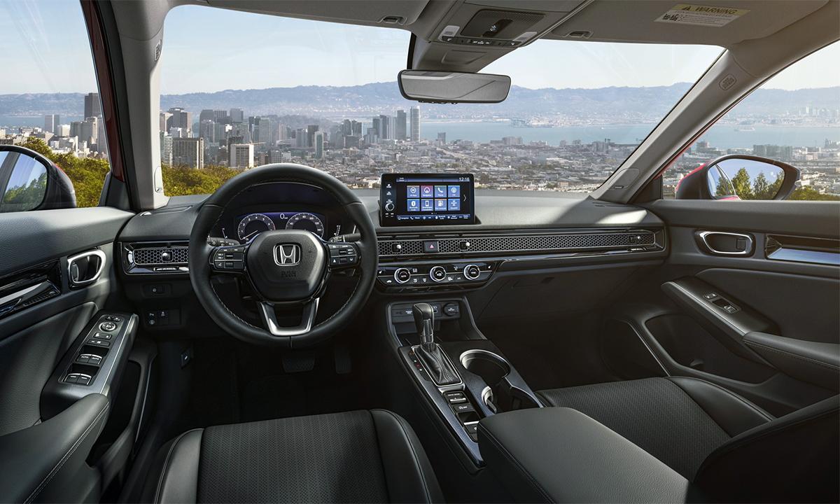 Interior Civic 2022 redesigned.  Photo: Honda