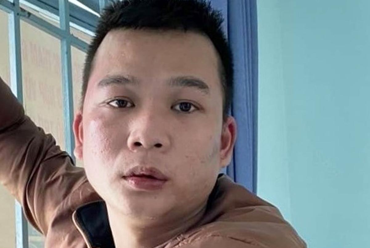 Hải khi bị bắt. Ảnh: Quang Bình.