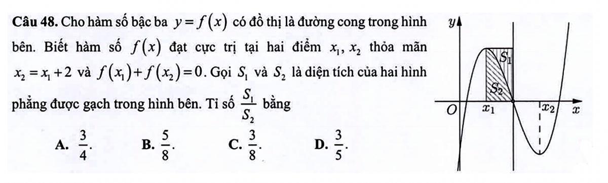 Bí quyết làm nguyên hàm - tích phân trong đề tốt nghiệp THPT - 2