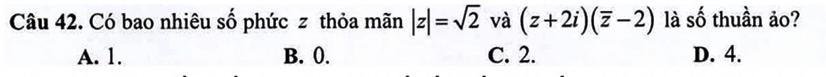 Bí quyết làm nguyên hàm - tích phân trong đề tốt nghiệp THPT - 5