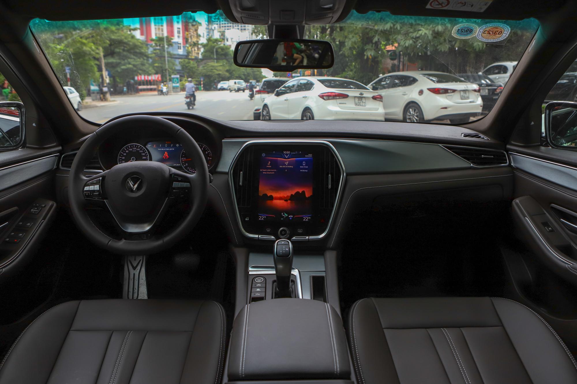 Nội thất VinFast Lux A2.0