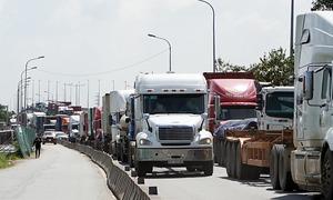 6 dự án chống kẹt xe cảng Cát Lái chậm tiến độ