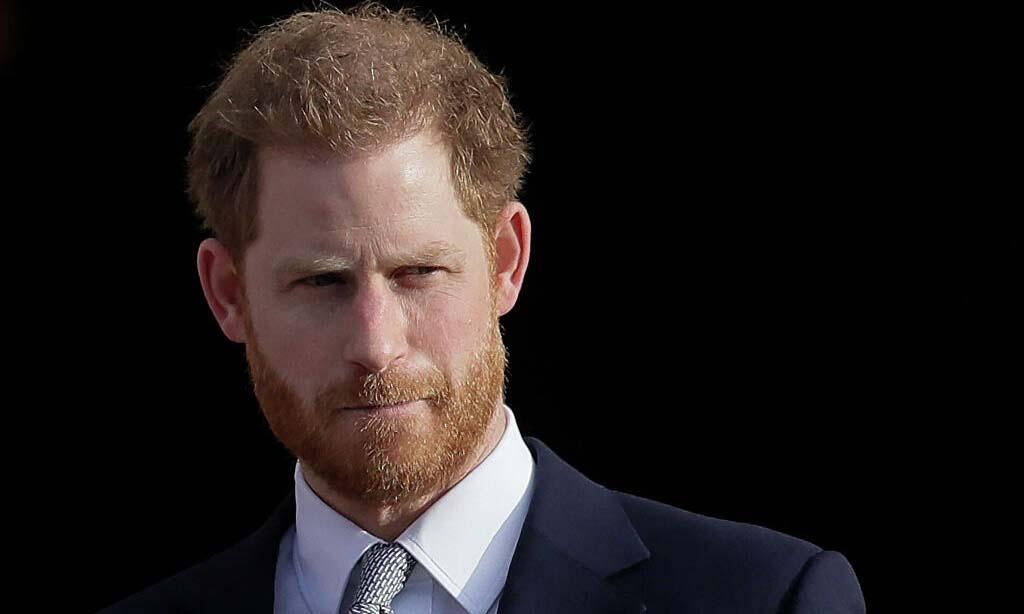 Harry tại Cung điện Buckingham ở London, Anh, hồi tháng 1/2020. Ảnh: AP.