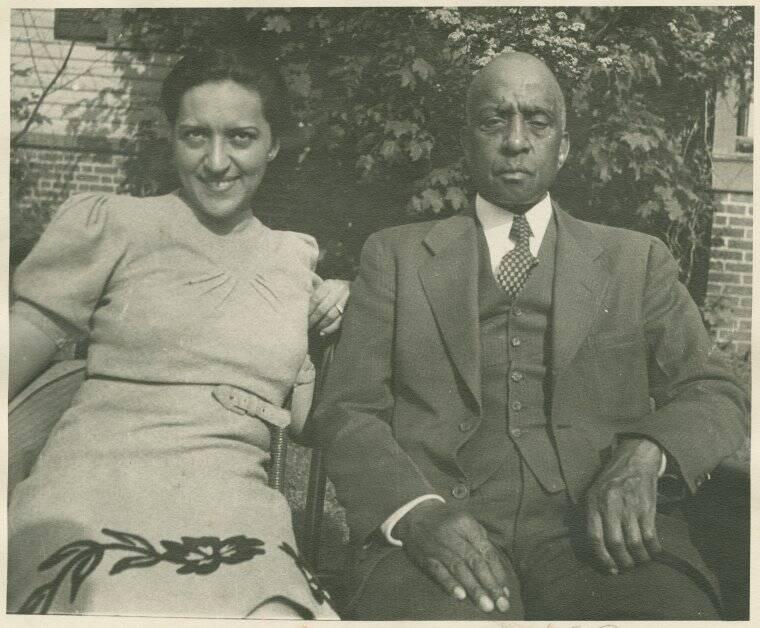 Jane Bolin và cha, luật sư Gaius C. Bolin. Ảnh: New York Public Library