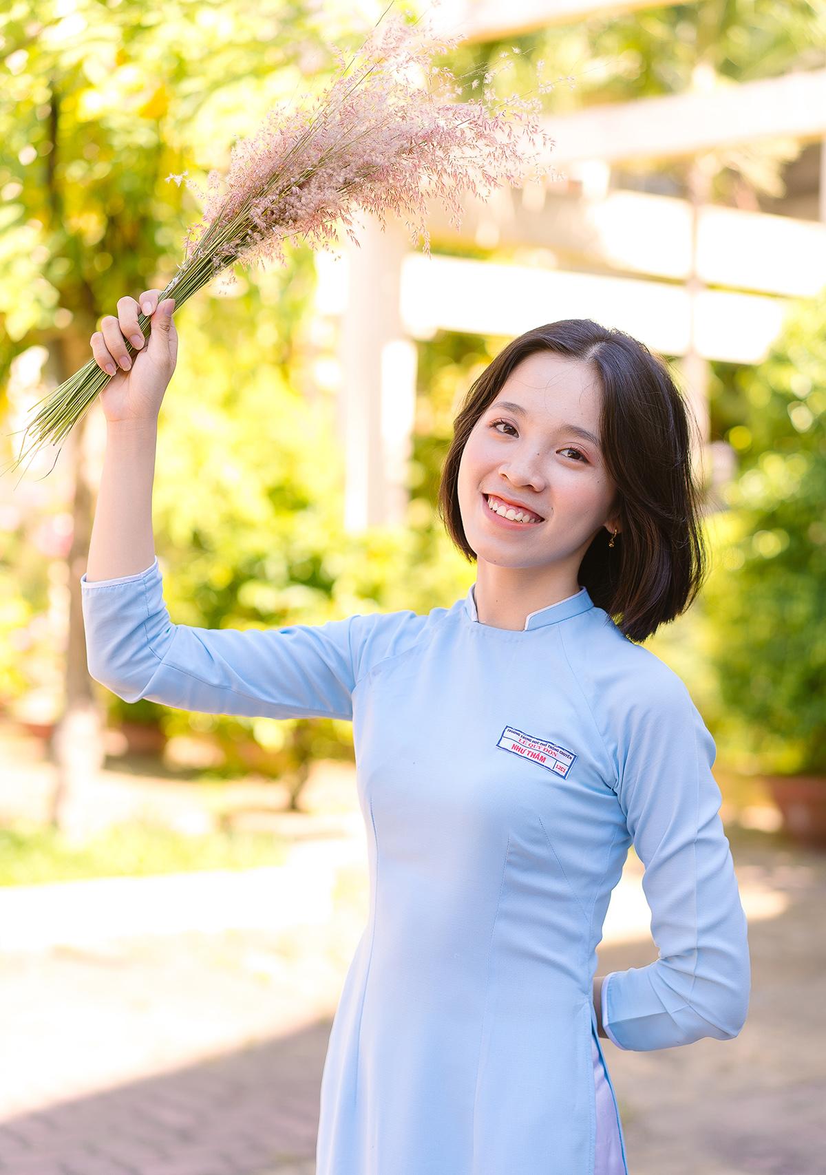 Nguyễn Thị Như Thắm là cựu học sinh trường THPT chuyên Lê Quý Đôn (Đà Nẵng). Ảnh: Nhân vật cung cấp.