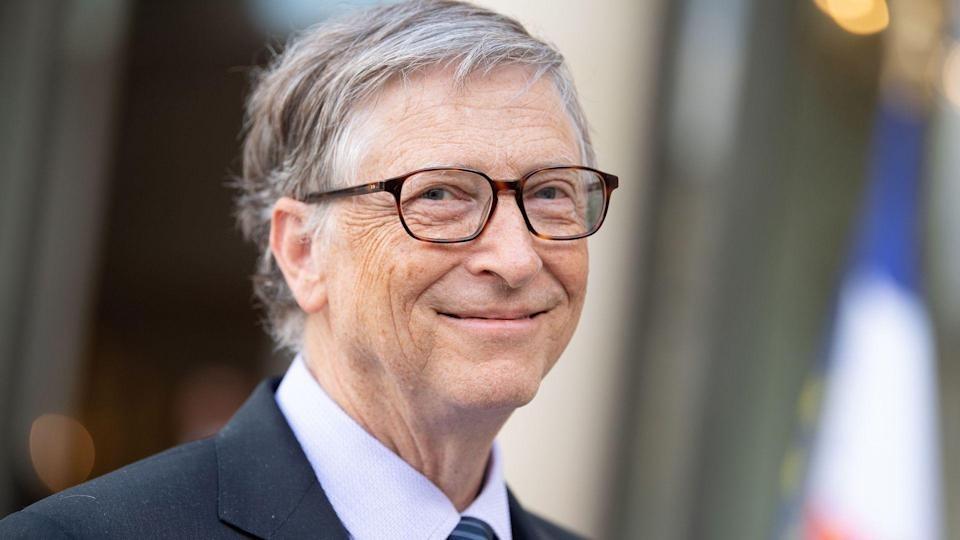 Bill Gates trong chuyến công tác ở Paris hồi tháng 4/2018. Ảnh: Reuters.