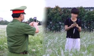 Ghi hình xử phạt người không đeo khẩu trang