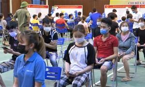 Hàng nghìn công nhân Bắc Ninh xét nghiệm nCoV