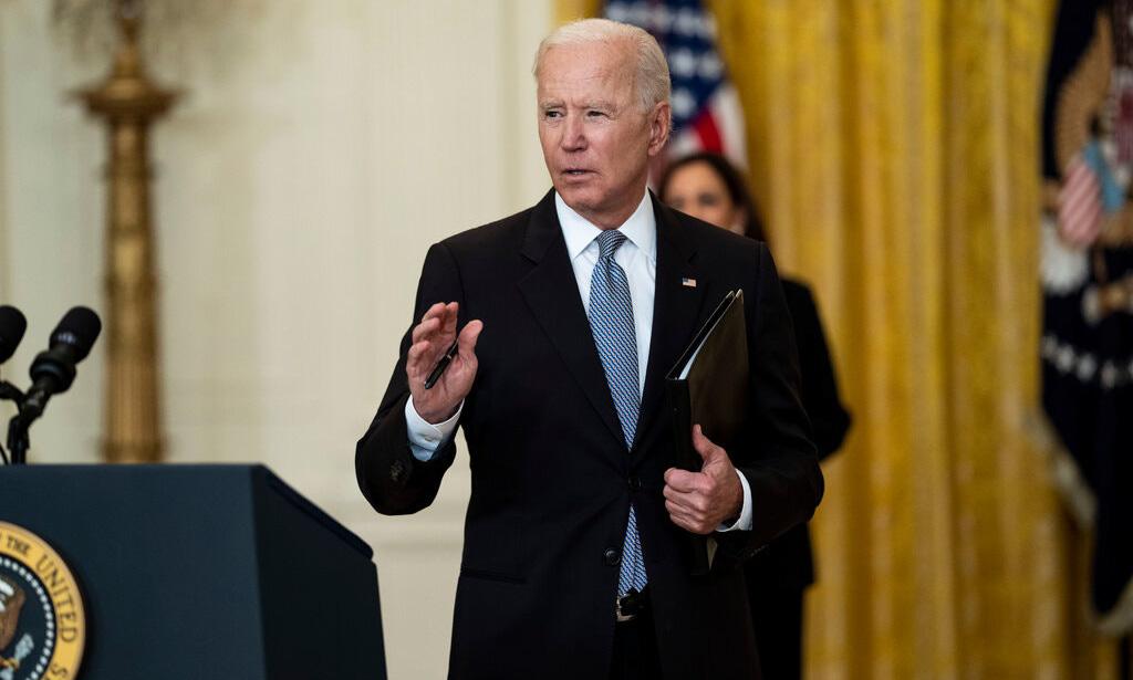 Tổng thống Joe Biden tại Nhà Trắng ngày 17/5. Ảnh: NYTimes.
