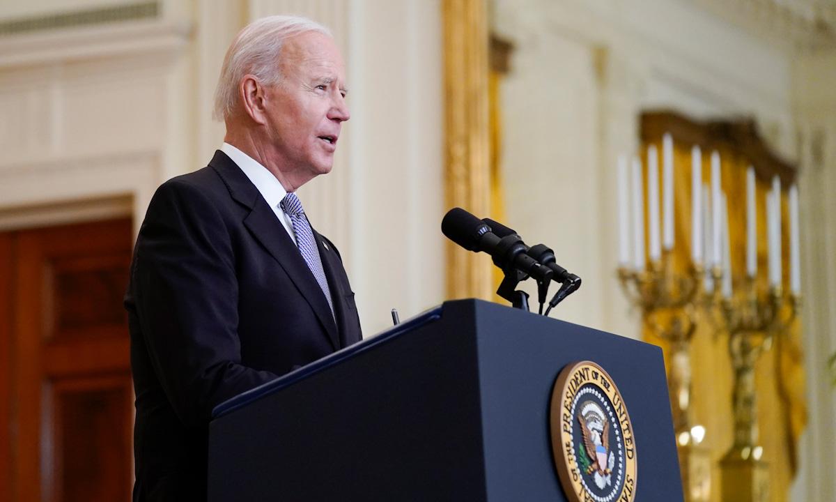 Tổng thống Joe Biden phát biểu tại Nhà Trắng ngày 17/5. Ảnh: AP.