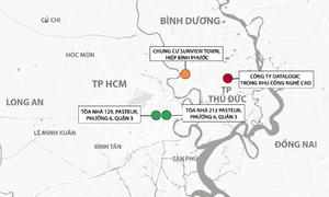 4 điểm phong tỏa ở Sài Gòn liên quan ca nghi nhiễm