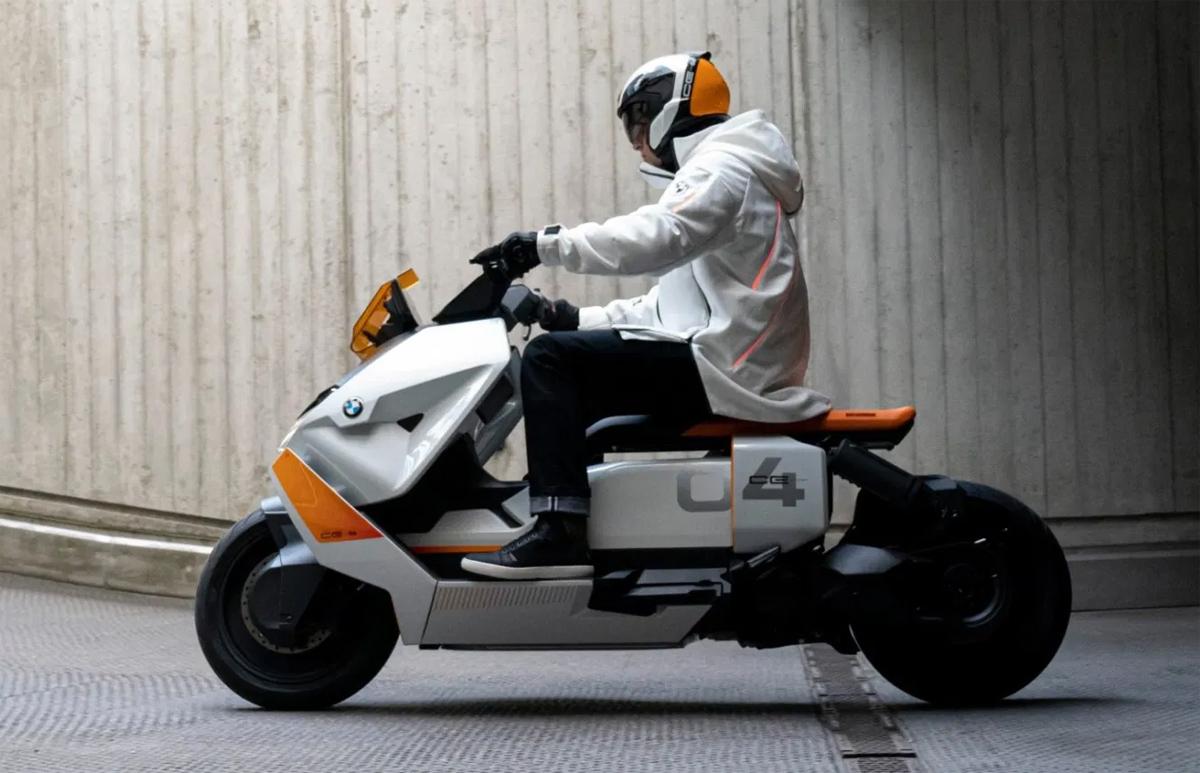 Definition CE 04 concept. Ảnh: BMW