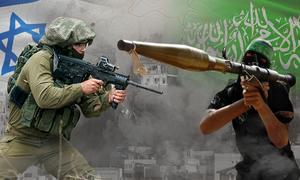 Gần 4 thập kỷ giao tranh Israel - Hamas