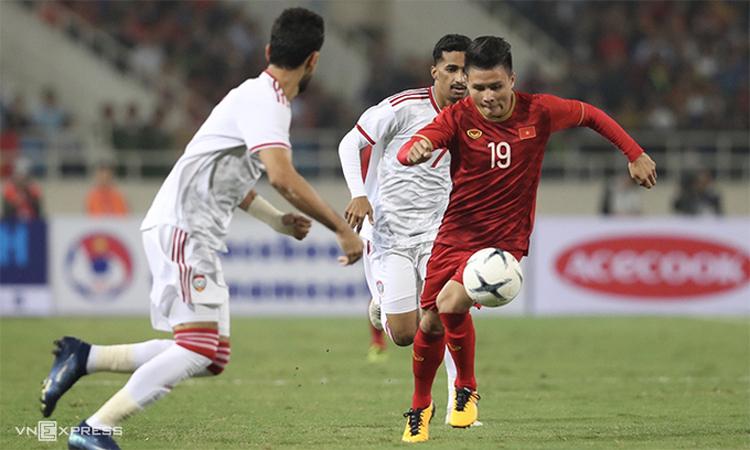 HLV Park Hang-seo đánh giá Việt Nam cần sáu điểm trong ba trận còn lại để đoạt vé đi tiếp.