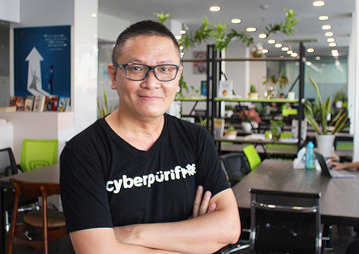 Bình Nguyễn, CEO CyberPurify. Ảnh: NVCC.