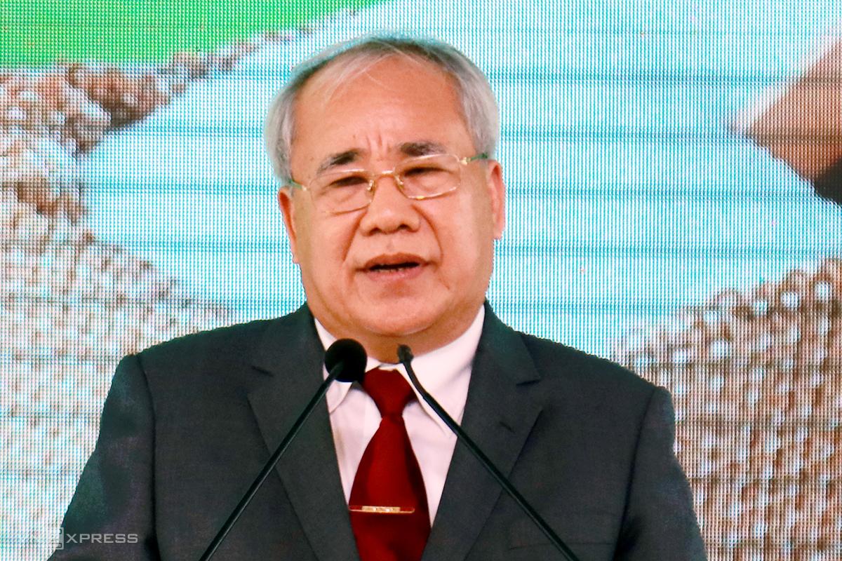 Ông Đào Công Thiên khi còn giữ chức Phó chủ tịch UBND tỉnh Khánh Hòa. Ảnh: Xuân Ngọc.