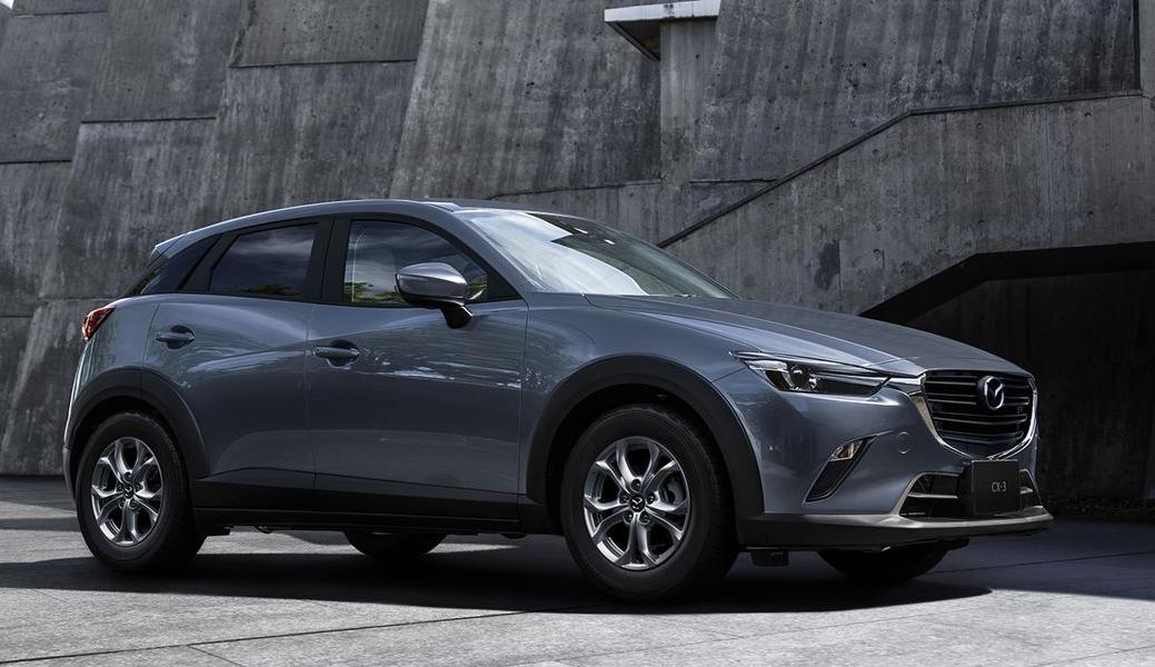 Crossover CX-3 đời 2021 tại Mỹ. Ảnh: Mazda