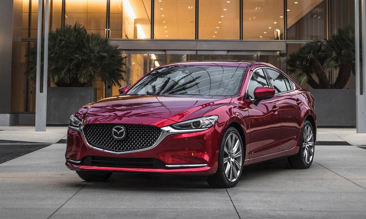 Mazda6 2021 tại Mỹ. Ảnh: Edmunds