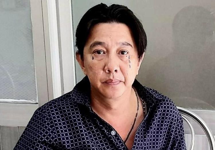 Nguyễn Hoàng Tuấn khi bị bắt giữ tại Cần Thơ. Ảnh: Công an cung cấp
