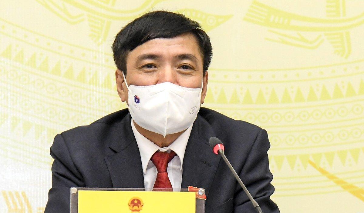 Tổng thư ký Quốc hội, Chánh văn phòng Hội đồng bầu cử quốc gia Bùi Văn Cường . Ảnh: Hoàng Phong