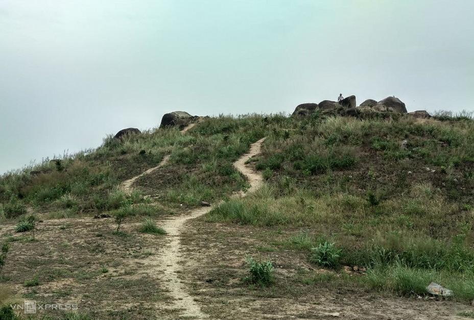 Khu vực đỉnh núi Chứa Chan. Ảnh: Phước Tuấn
