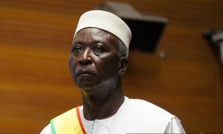 Tổng thống lâm thời Mali Bah Ndaw dự một sự kiện ở thủ đô Bamako tháng 9/2020. Ảnh: AFP.