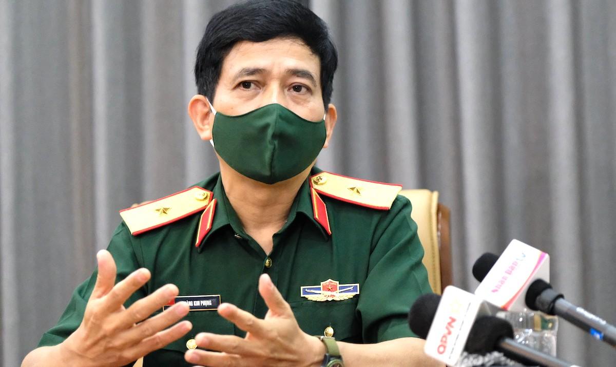 Thiếu tướng Hoàng Kim Phụng, Cục trưởng Cục Gìn giữ hòa bình Việt Nam. Ảnh: Hoàng Thùy