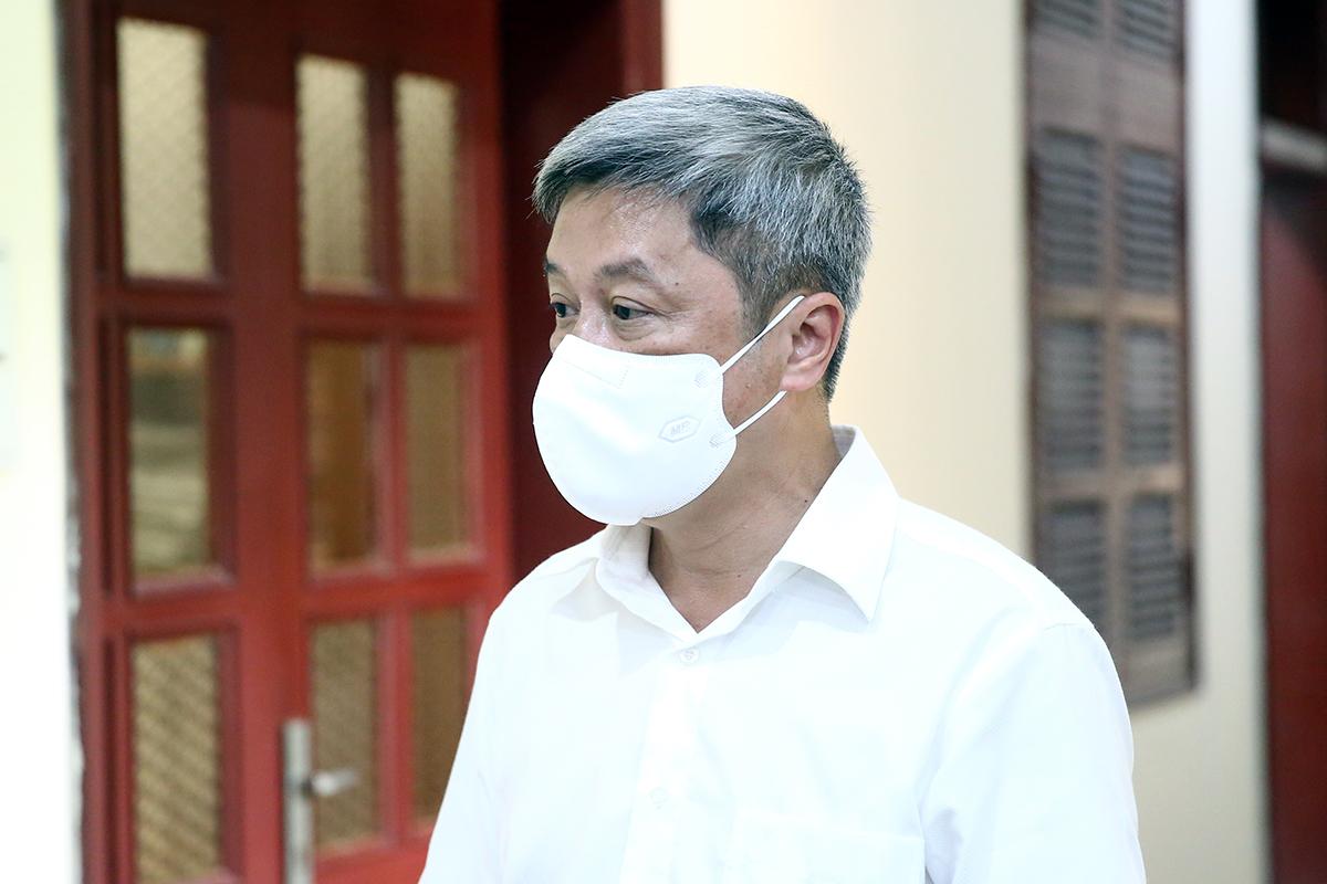 Thứ trưởng Y tế Nguyễn Trường Sơn. Ảnh: Đình Nam