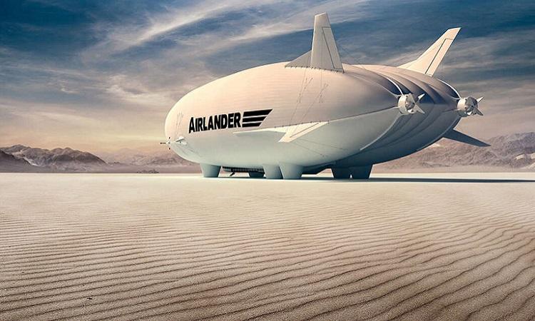 Thiết kế của máy bay Airlander 10. Ảnh: Hybrid Air Vehicles.