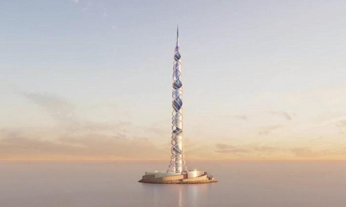 Thiết kế của Trung tâm Lakhta II. Ảnh: Kettle Collective.