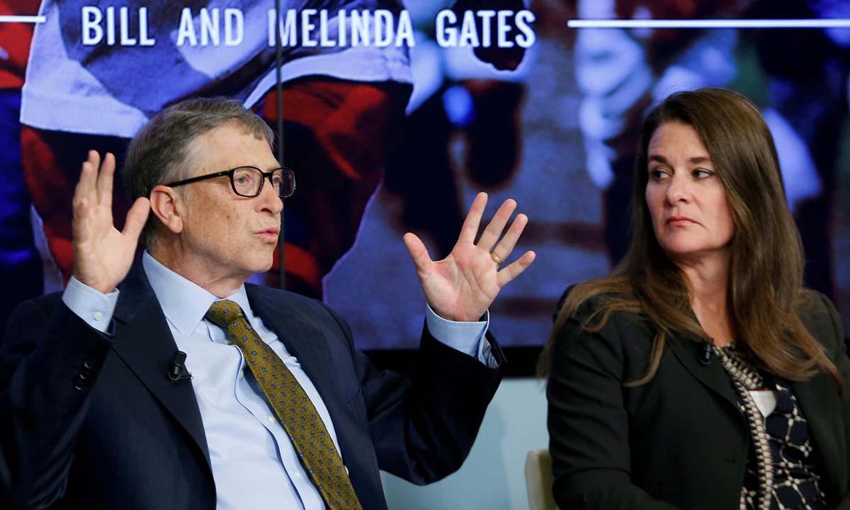 Bill Gates và Melinda tại một sự kiện ở Brussels, Bỉ, hồi tháng 1/2015. Ảnh: Reuters.