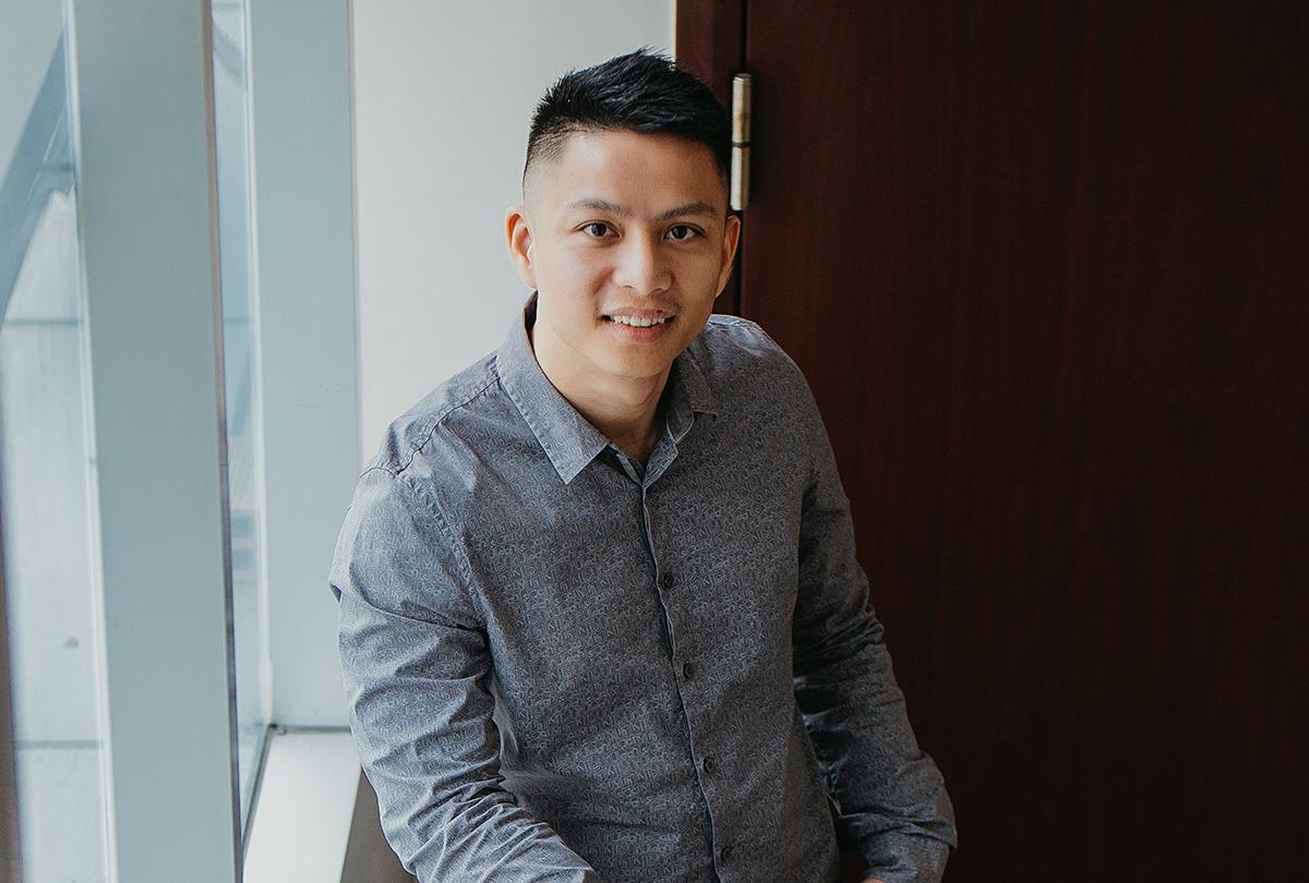 Ngô Minh Hiếu, kỹ sư an toàn thông tin tại Trung tâm Giám sát An toàn Không gian mạng quốc gia (NCSC). Ảnh: NVCC.