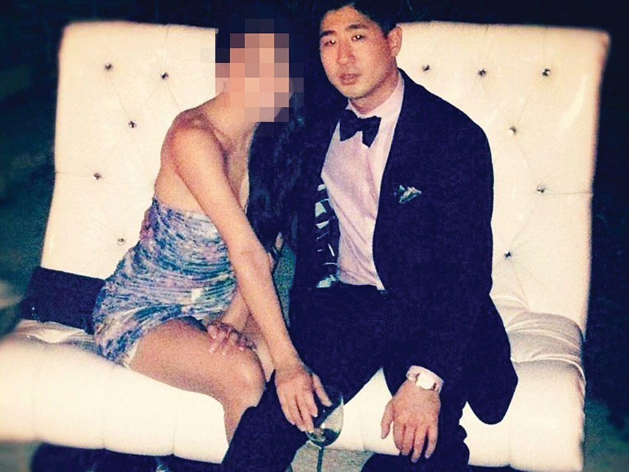 Brian Shin và bạn gái. Ảnh: Torontoliffe