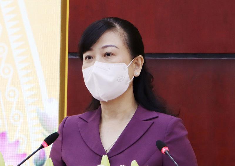 Bà Đào Hồng Lan, Bí thư Tỉnh ủy Bắc Ninh. Ảnh: Kinh Bắc