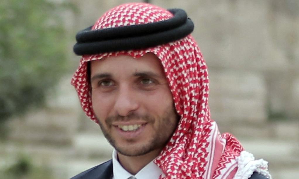 Cựu thái tử Hamzah tại sự kiện báo chí ở thủ đô Amman năm 2015. Ảnh: AFP.