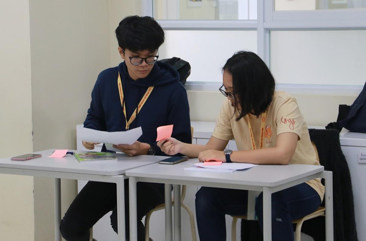 Hải Dương tại Giải Vô địch tranh biện Việt Nam. Ảnh: Nhân vật cung cấp