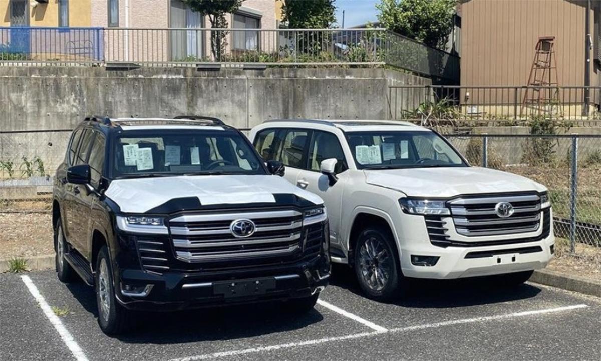 Land Cruiser thế hệ mới xuất hiện tại nhà máy ở Nhật Bản. Ảnh: Gaadiwaadi